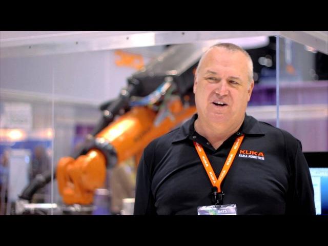 KUKA.CNC Robotmaster at IMTS 2012