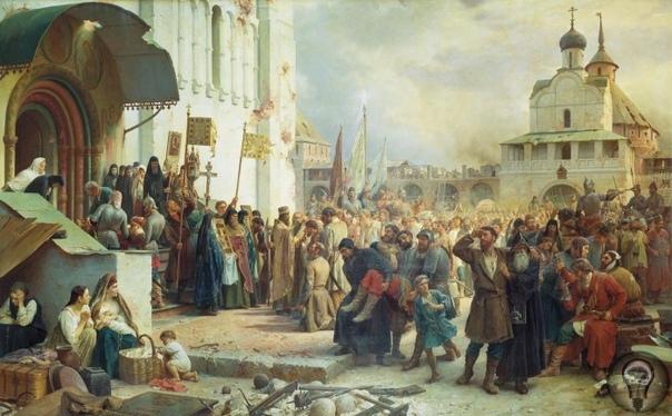 Смута: как едва не погибло царство Русское Лжедмитрий I: самозванец на троне Удачно начавшись, правление первого выбранного царя Бориса Годунова было прервано страшным неурожаем, голодом и