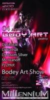 04 Лютого [пятниця] __★ BODY ART PARTY ★__ Millennium __ попередній продаж 25 грн.