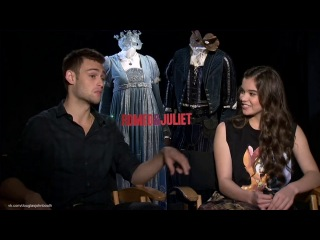 Douglas booth and hailee stanfield - romeo and juliet video interview