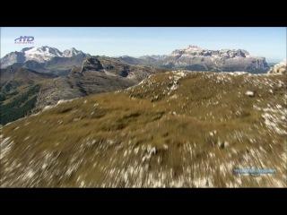 Прекрасная Италия А́льто А́дидже Южный Тиро́ль из Валле Аурина в Швейцарские Альпы