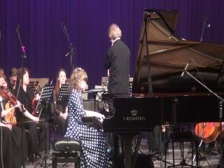 Концерт с симфоническим оркестром Екатерина Зыкова Полунин Концерт для фортепиано с оркестром