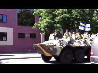 Одесса. . Ул. Разумовская, передвижение военной техники.