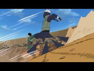 Прикол из аниме Наруто Naruto Юмор lol Ancord Анкорд серия D Соперники Гай и Какаши участвуют в забеге!