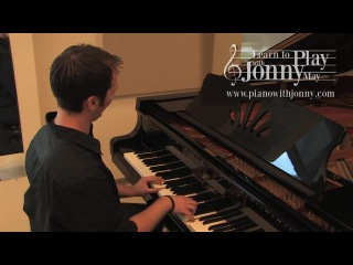 1950s rock & roll piano played by jonny may