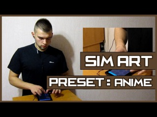 SIM ART - preset: Anime (Drum Pads Guru)