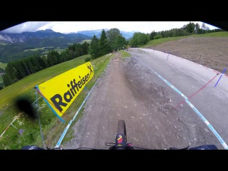 UCI MTB World Cup | Mick Hannah | Leogang, Austria | 12 June 2016