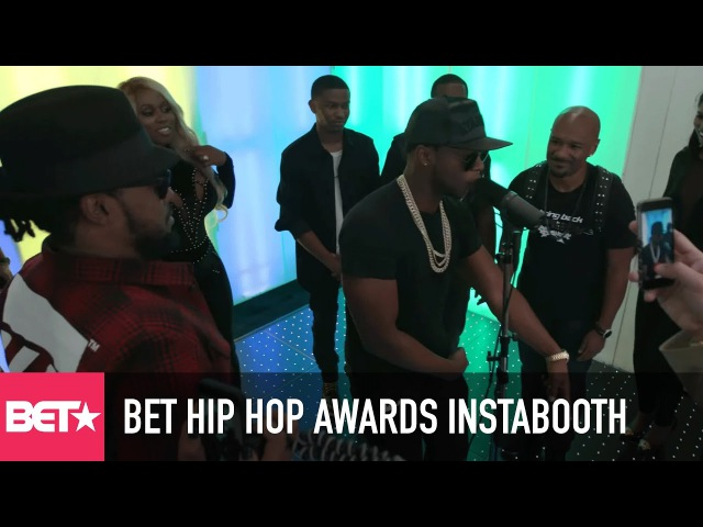 2016 BET Hip Hop Awards Instabooth Papoose