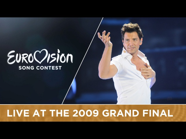 Sakis Rouvas This Is Our Night Greece LIVE 2009 Eurovision Song Contest