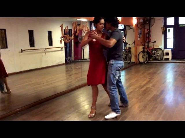 Mariana Dragone Gaston Torelli for The London Tango Boutique - having fun @ La Maleva 16.11.16