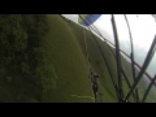 Paragliding collapse at the White Horse, Westbury