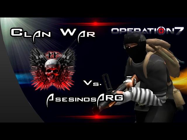 FatalFury vs AsesinosARG Clan War Operation7 Latino HD