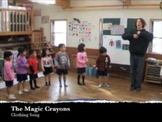 Clothing Song for Children. English Kindergarten Songs by The Magic Crayons