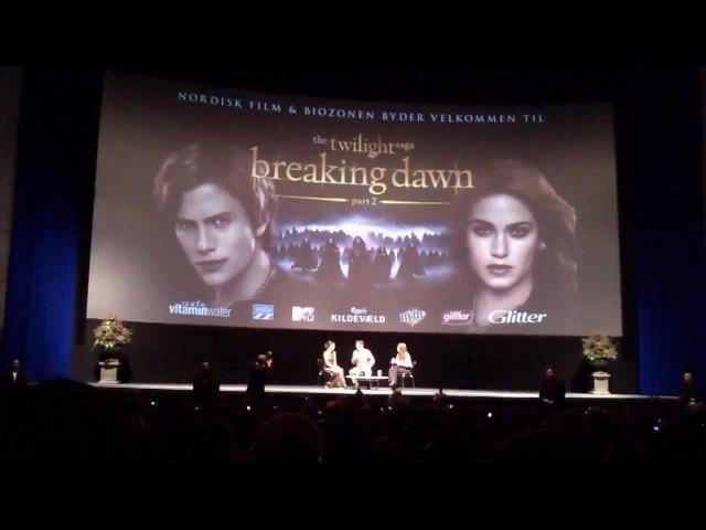 Breaking Dawn Part 2 Interview with Nikki Reed Jackson Rathbone