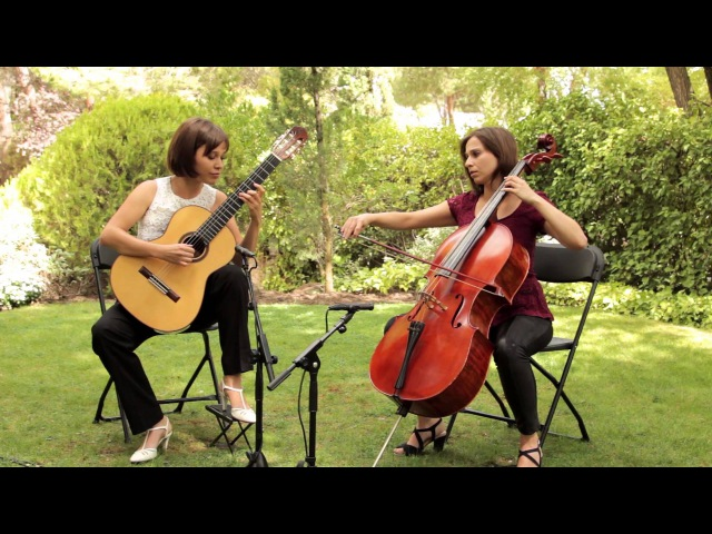 Paola Requena y Marta Requena Valsay para Cello y Guitarra