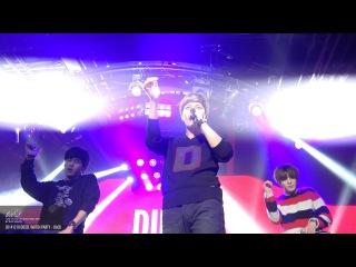 141218 FANCAM MyungSoo - Back  Diesel Watch Party