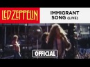Led Zeppelin - Immigrant Song - Australia 1972