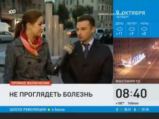 Передача «Невское утро» на канале «100 ТВ» с Евгением Петровичем Гурмизовым