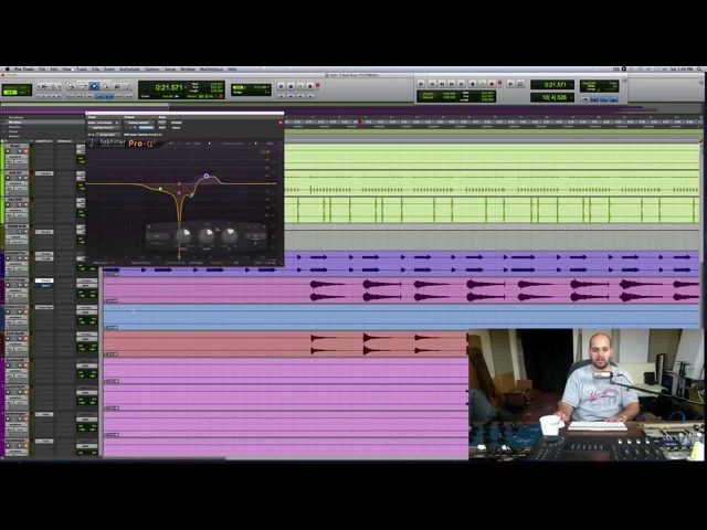 How to Use Different Types of EQ Curves for Mixing Electric Guitar