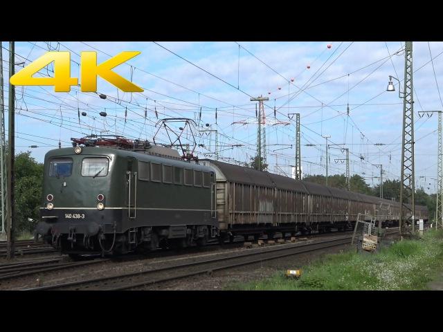 4K Güterzüge in Köln Gremberg Freight Trains 29 08 2015