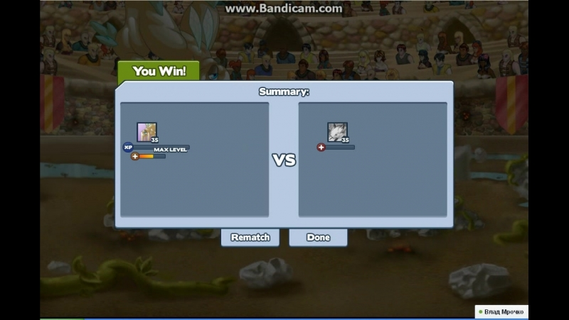 Showdown Woozy Vs Bunaken 2