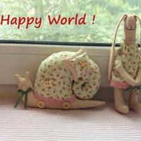 Happy world - куклы тильда и не только !