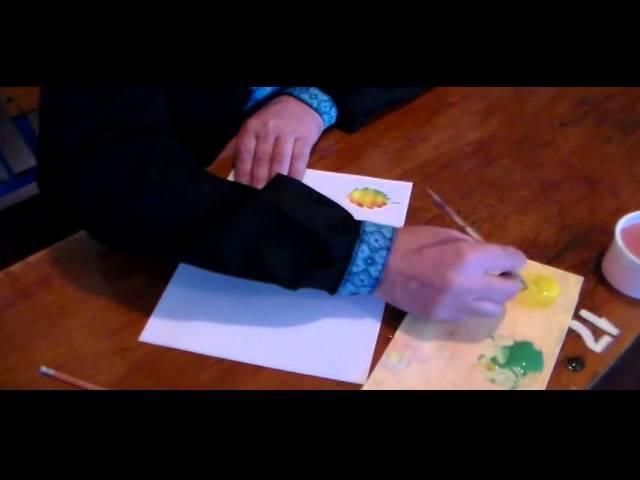 4 урок Петриківський розпис