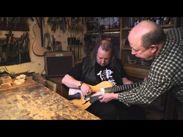 Vyacheslav Latyshev archtop guitar 3 Арктопа и 1 класическая гитара Вячеслава Латышева