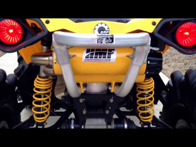 BRP Renegade 800r Hmf dual exhaust