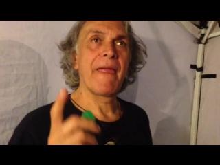 Riccardo fogli video-greeting for disco80 community (8 august, 2015)