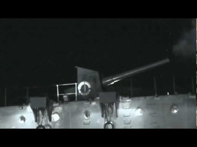 Захват Крейсера Аврора и выстрел из орудия