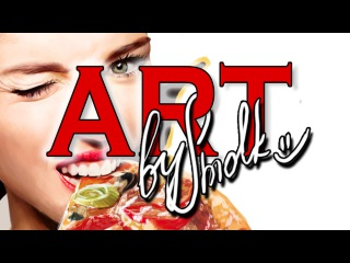 Speed painting - Miley Cyrus PIZZA