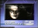 The Crow Stairway to Heaven on FOX Promo 1999