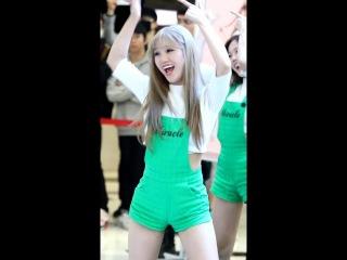 [160424]오마이걸(OH MY GIRL) 미미 직캠(fancam) - 라이어 라이어(liar liar),핑크오션(PINK OCEAN) 팬사인회 @IFC몰