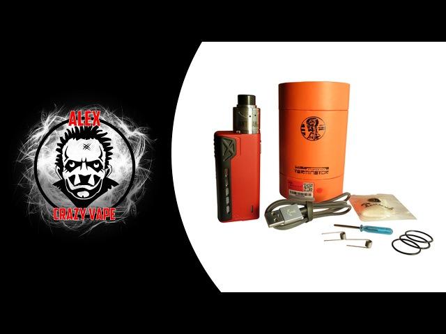 TeslaCigs Terminator Starter Kit VapeReview Безопасный мехмод