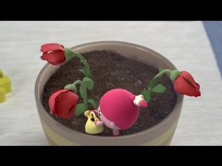 Малышарики - Цветок (21 серия) Развивающие мультфильмы для самых маленьких 1,2,3,4 года