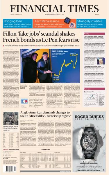 Financial Times Europe 7 February 2017 FreeMags