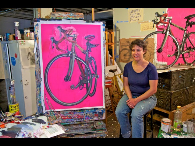 My Wonderful Bicycle The Art of Taliah Lempert