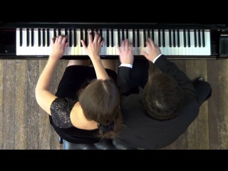 Hungarian Dances No 5, J Brahms - Passepartout Piano Duo