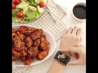 [cf] jungkook for their 'mala hot chicken' bbq chicken