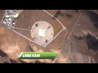 """Прыжок каскадера из """"Железного человека"""" с высоты 7,6 км"""