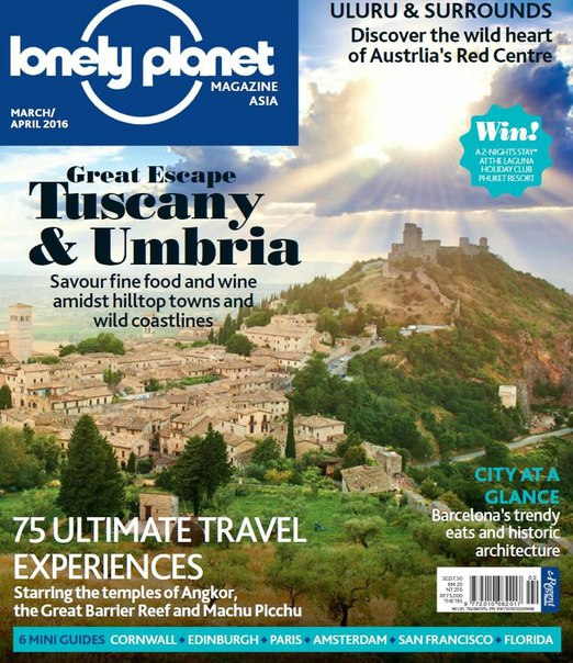 Lonely Planet Asia - March-April 2016