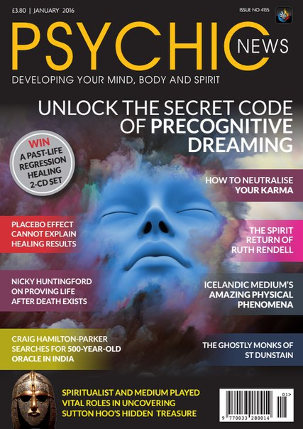 Psychic News - January 2016  UK vk.com