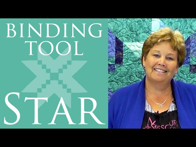 Make a Binding Tool Star Quilt with Jenny Doan of Missouri Star Video Tutorial
