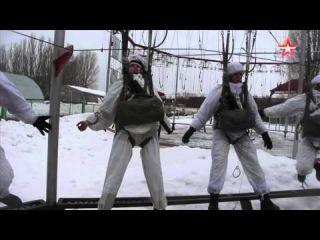 Женский спецназ ВС РФ взорвал тайный бункер «противника»