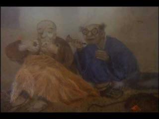 """""""Безумные стихи"""" (Ю. Норштейн, 2003) из м/ф """"Зимние дни"""""""