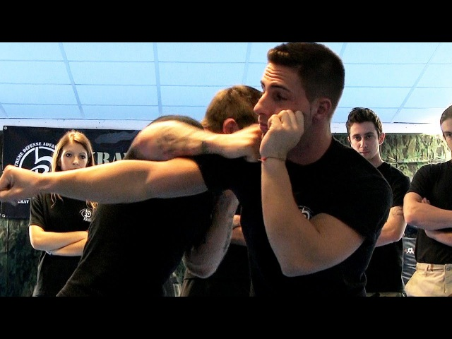 KRAV MAGA TRAINING End a fight in 3 seconds