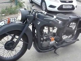 Мотоцикл BMW R35 Закончена Реставрация трофейного мотоцикла