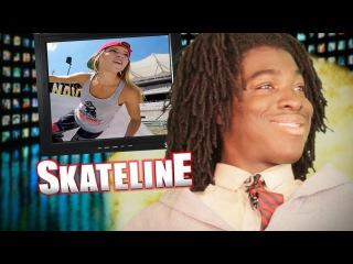 SKATELINE - Leticia Bufoni @ X Games, Chris Joslin, Bronze 56K, Double Slappy, Jeffwonsong and more