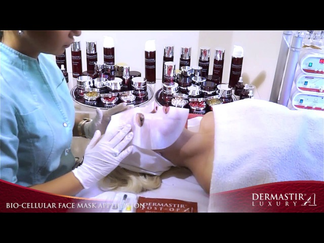 GT010TV Dermastir Post OP Bio Cellular Face Mask Retexturizing Skin Tissue Treatment